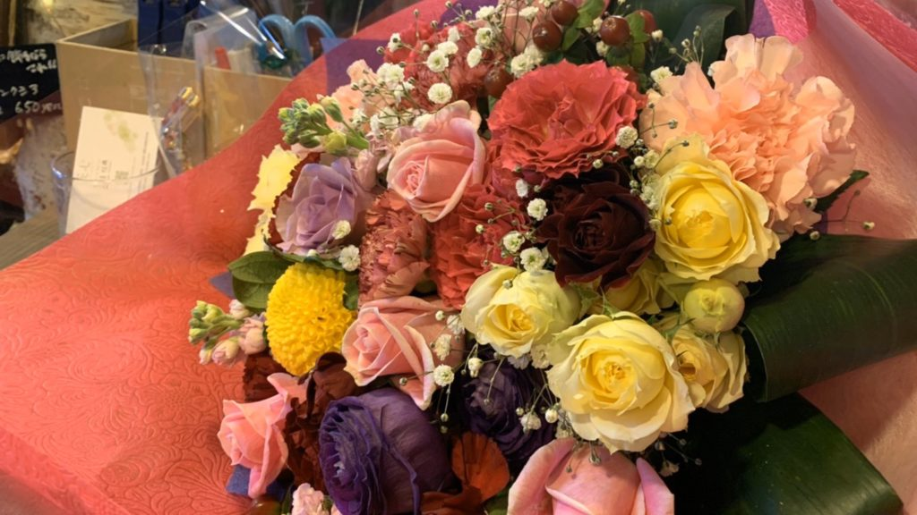 5000円の花束