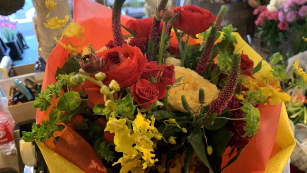 2500円の花束