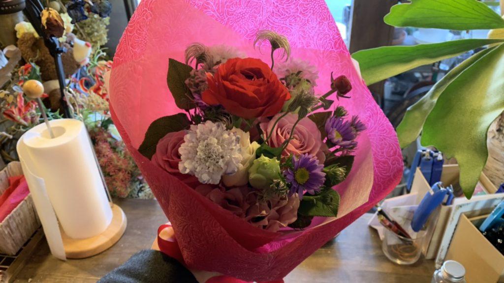 3000円の花束