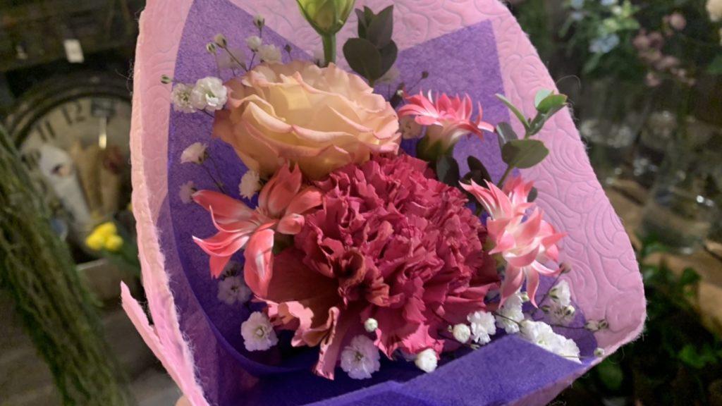 1000円の花束